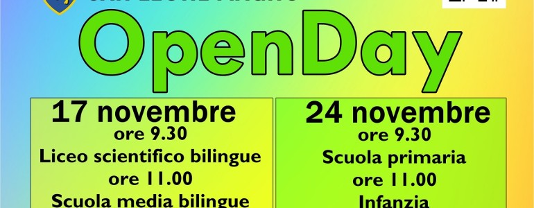 Open Day locandina small